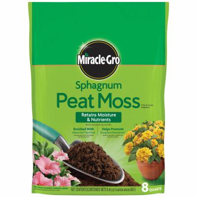 MG 8QT Sphagn Peat Moss - Woods Hardware