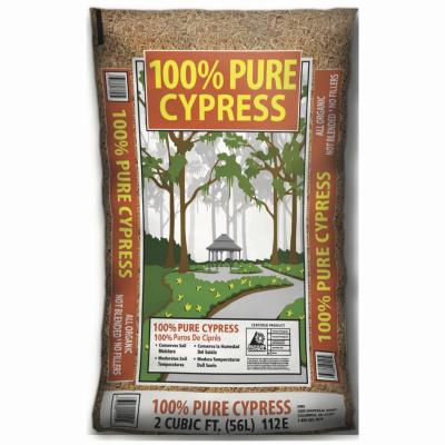 2CUFT Cypress Mulch - Woods Hardware