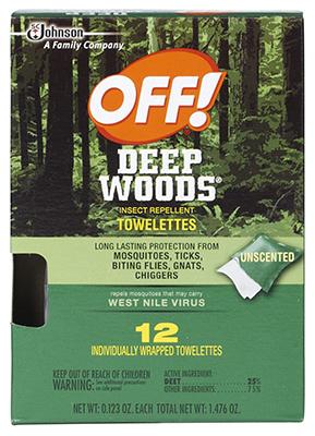12CT DeepWood Towelette