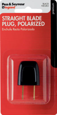 6A 125V BLK Quick Plug - Woods Hardware