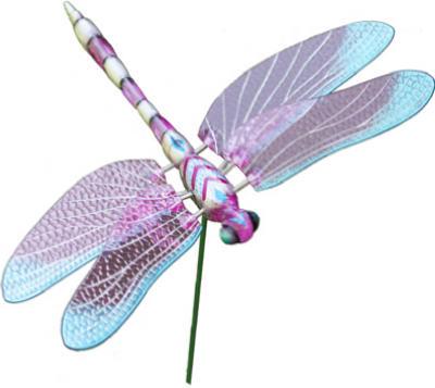 "7""Dragonfly Stake ASSTD"