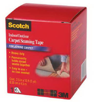 "2.5""x15 Carpet Tape"