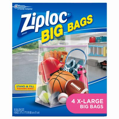 Ziploc4PK XL HD Big Bag