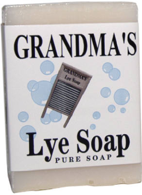 6OZ Pure Mild Lye Soap