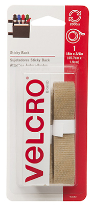 18x3/4 BGE Velcro Tape
