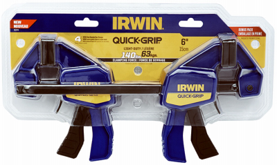 "4PK 6""QuickGripBarClamp"