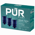 Pur 3-Stage Faucet Filter, 3-Pack