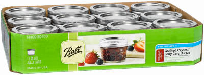 Ball 12PK 4OZ Jelly Jar