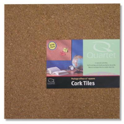 4PK 12x12 LT Cork Tile
