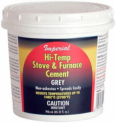 32OZ GRY Hi Temp Cement