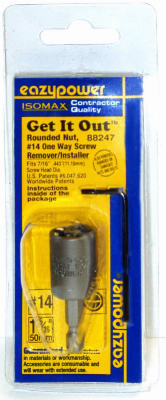 #14 1 Way Screw Remover