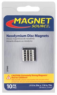 """10PK .3""""x.11""""Neo Magnet"""