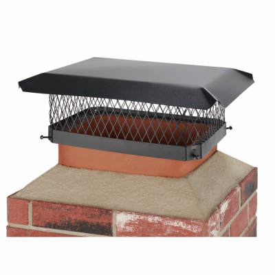 13x18 BLK Chimney Cover