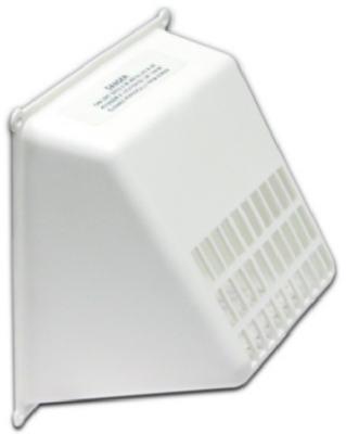 Lambro Industries White Universal Dryer Vent Bird Rodent