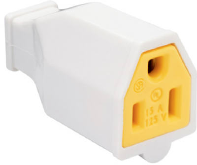 15A 125V WHT Connector