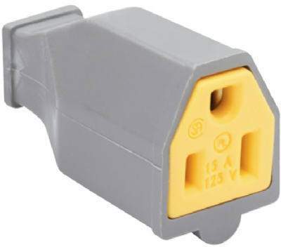 15A 125V GRY Connector