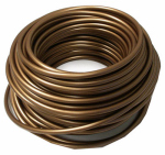 Evaporative Cooler Poly Tubing, Copper Color, 1/4-In. x 100-Ft.