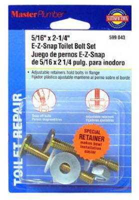 MP 2PK Snap Toilet Bolt