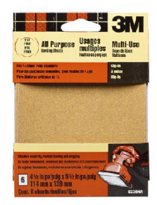 5PK Coar Sander Sheet