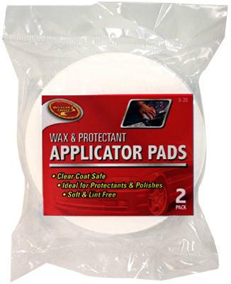 2PK Wax Applicator Pad