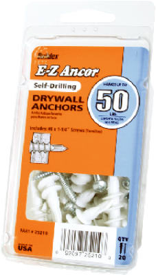 20PK#50 Plas Dry Anchor