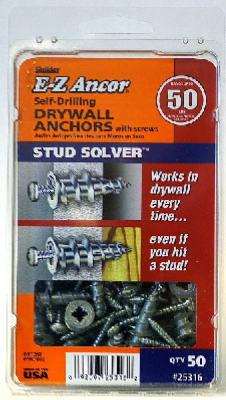 50PK#50 Stud Dry Anchor