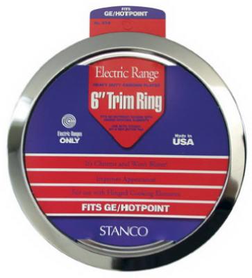 "6"" CHR Trim Ring"