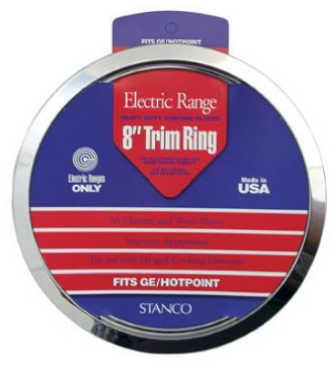 "8"" CHR Trim Ring"