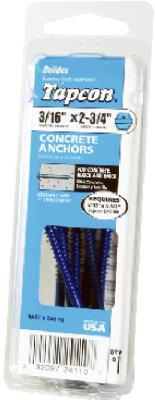 8PK1/4x2-3/4Conc Anchor