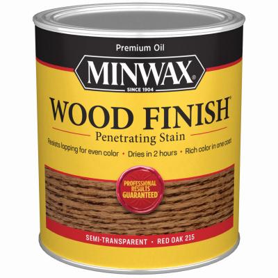 QT RED Oak Wood Finish