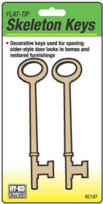 2PK FLT Skeleton Keys