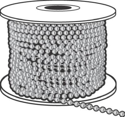 100 #10 NPB Ball Chain
