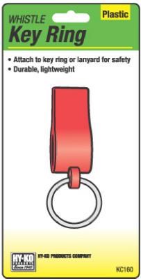 Plas Whistle Key Ring