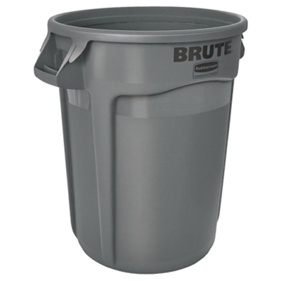 20GAL GRY Trash Can