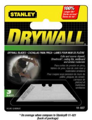 3PK ASB Drywall Blade