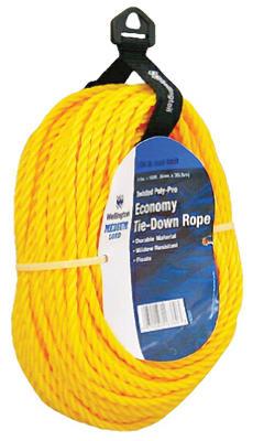 "1/4""x100 YEL Poly Rope"