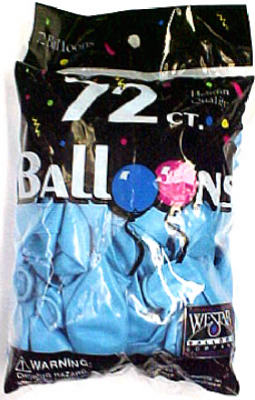 72CT Sky BLU Balloon