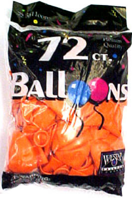 72CT ORG Helium Balloon