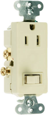 15A IVY Switch/Outlet
