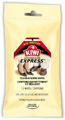 15CT Kiwi LTHR Wipes