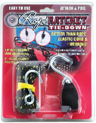 "1/8""Ratch Tie Down/Hook"