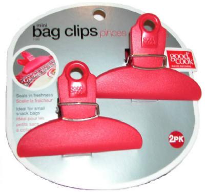 2PK Bag Clip ASSTD