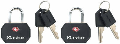 2PK 1-1/4 BLK Lugg Lock