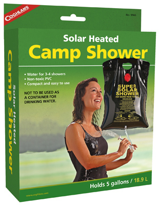 5GAL Camp Solar Shower