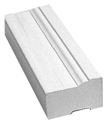 7 PVC WHT Brickmould