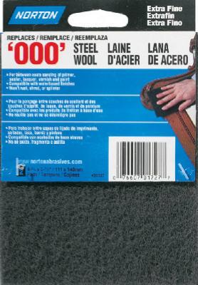 2PK GRY 000G Wool Pad
