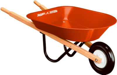 Mini Toy Wheelbarrow