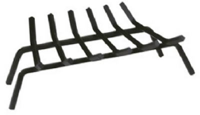 "27"" BLK WI Fire Grate"