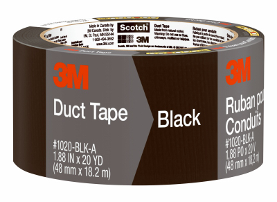 2x20YD BLK Duct Tape