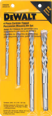 4PC MAS Drill Bit Set